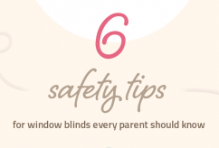 6 window blinds safety tips every parent should know [Infographic]