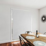 Chicago Roller Blind in White Closed