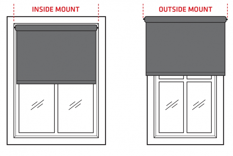 How To Measure Your Window For Roller Blinds
