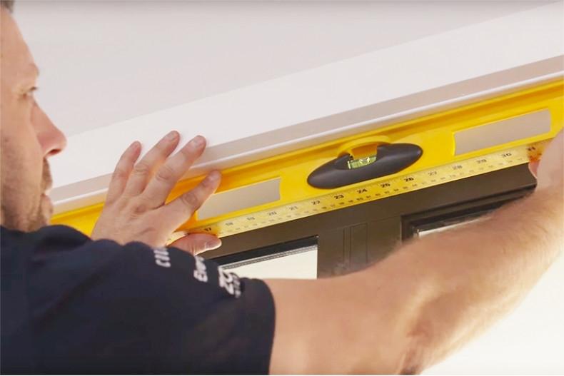 how to install homeworks venetian blind